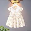 baby girls pear print summer dress