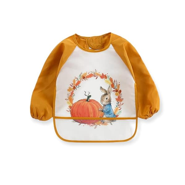 babies and toddlers Green Peter Rabbit Cabbage Patch Coverall Bibd toddlers orange peter rabbit halloween pumpkin coverall bib