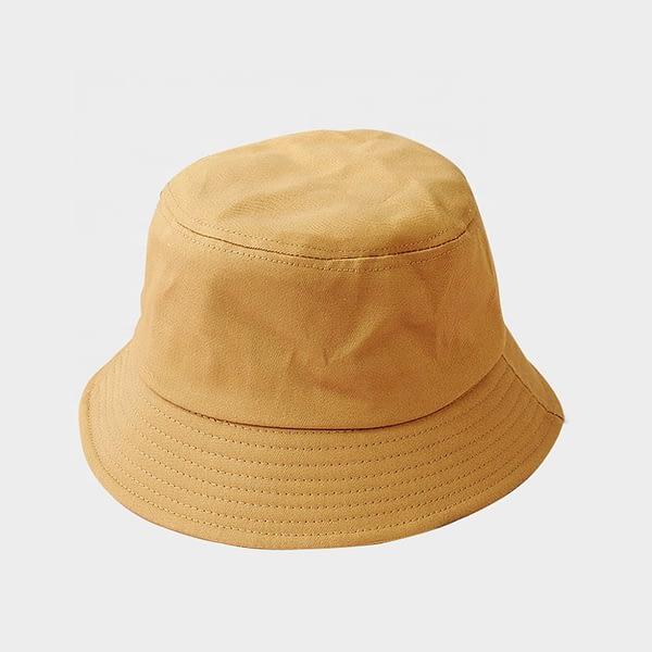 Kids mocha Cotton Bucket Sun Hat