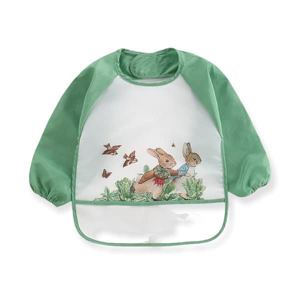 Green Peter Rabbit Cabbage Patch Coverall Bib