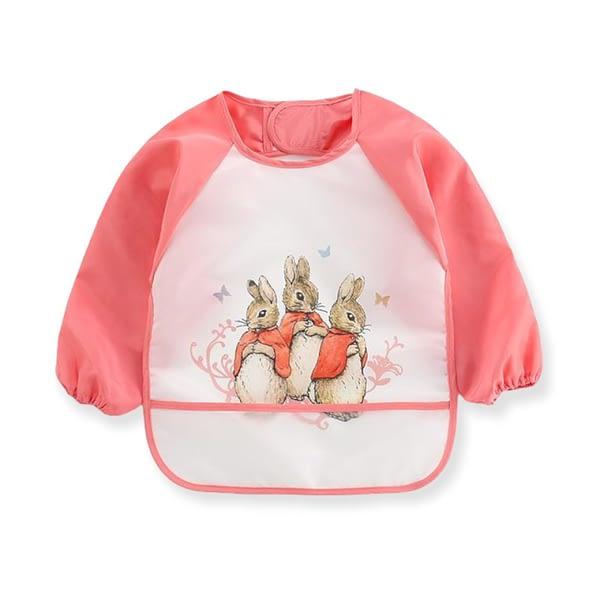 Pink Peter Rabbit Flopsy Bunny Coverall Bib