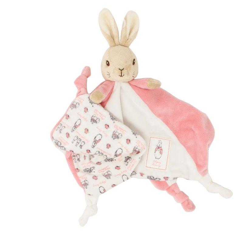 flopsy bunny comfort blanket soft toy