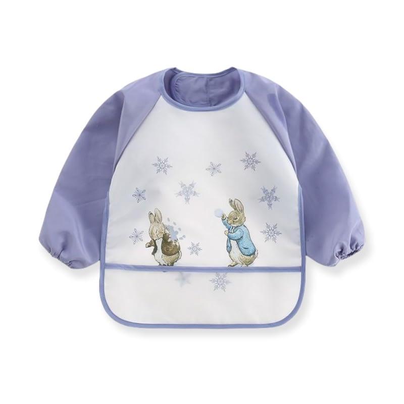 Purple Peter Rabbit Winter Wonderland Coverall Bib